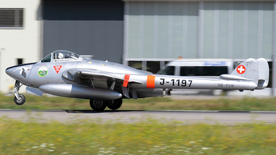 HB-RVN - De Havilland Vampire Mk.6 - Private