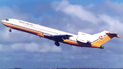V8-BG1 - Boeing 727-2U5(ADV) - Brunei - Sultan's Flight