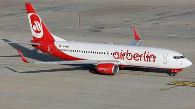 D-ABBE - Boeing 737-86J - Air Berlin