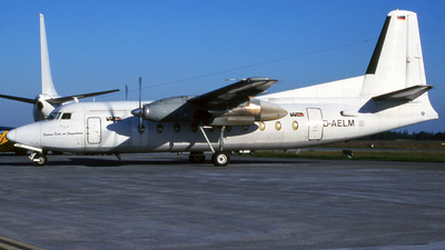 D-AELM - Fokker F27-600 Friendship - WDL Aviation