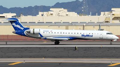 N754EV - Bombardier CRJ-701 - SkyWest Airlines