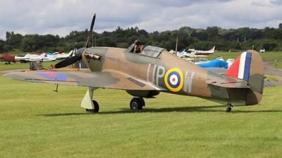 G-HUPW - Hawker Hurricane Mk.I - Private