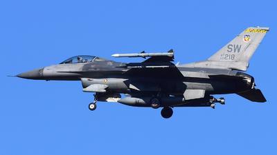00-0218 - Lockheed Martin F-16CJ Fighting Falcon - United States - US Air Force (USAF)