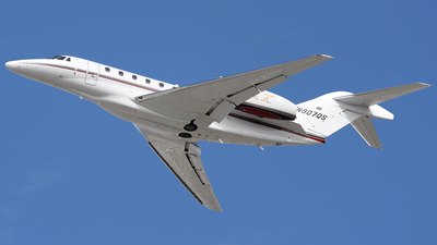 N907QS - Cessna 750 Citation X - NetJets Aviation
