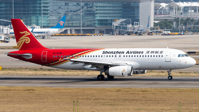 A picture of B6691 - Airbus A320232 - Shenzhen Airlines - © miCHAel TAN