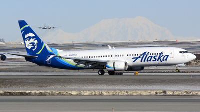 N587AS - Boeing 737-890 - Alaska Airlines