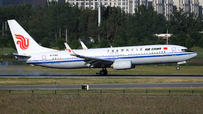 B-1762 - Boeing 737-89L - Air China