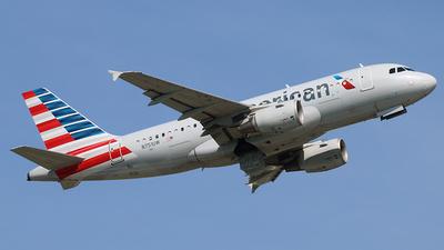 N751UW - Airbus A319-112 - American Airlines