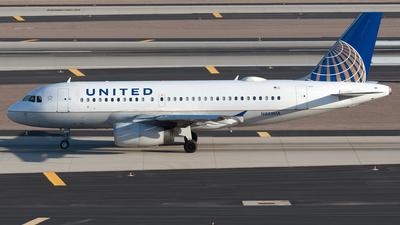N855UA - Airbus A319-131 - United Airlines