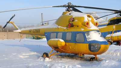 RA-23569 - PZL-Swidnik Mi-2SH Hoplite - Omsk Flight Technical College of Civil Aviation of A.V. Lyapidevsky