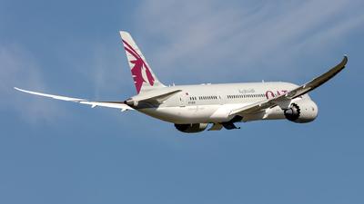 A picture of A7BDB - Boeing 7878 Dreamliner - Qatar Airways - © Hanjo Schrenk