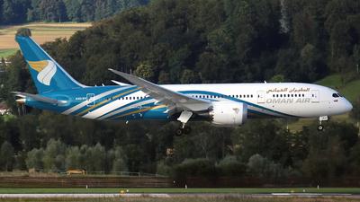 A4O-SY - Boeing 787-8 Dreamliner - Oman Air