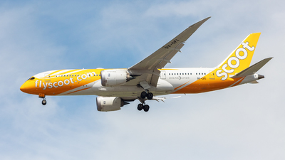 9V-OFI - Boeing 787-8 Dreamliner - Scoot