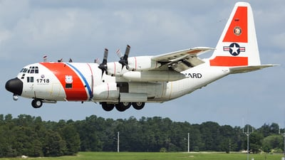 1718 - Lockheed HC-130H Hercules - United States - US Coast Guard (USCG)
