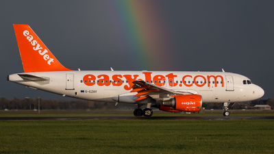 A picture of GEZAY - Airbus A319111 - easyJet - © Giorgio Adamo