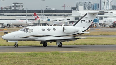 A picture of VHPWX - Cessna 510 Citation Mustang - [5100269] - © Jayden Laing