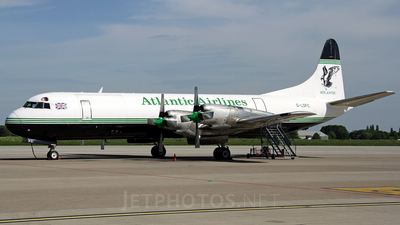G-LOFC - Lockheed L-188C Electra - Atlantic Airlines