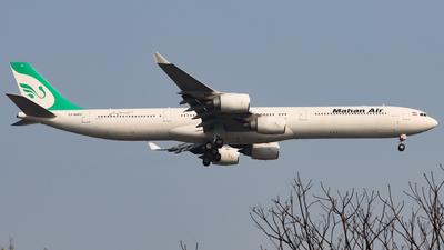 EP-MMQ - Airbus A340-642 - Mahan Air