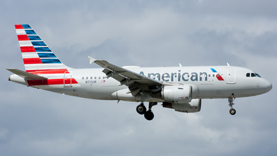 A picture of N711UW - Airbus A319112 - American Airlines - © Ozell V. Stephens Jr.