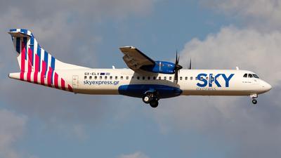 SX-ELV - ATR 72-212A(600) - Sky Express