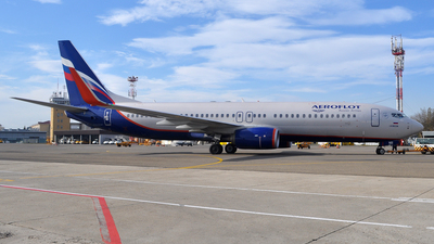 VQ-BHU - Boeing 737-8LJ - Aeroflot