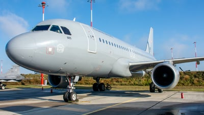 605 - Airbus A319-112 - Hungary - Air Force