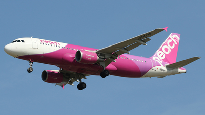 JA809P - Airbus A320-214 - Peach Aviation
