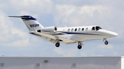 N193PP - Cessna 525A CitationJet CJ2 - Private