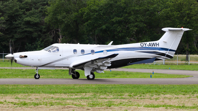 OY-AWH - Pilatus PC-12/47E - Private