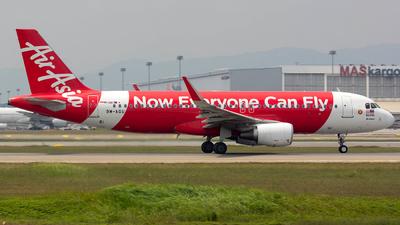 9M-AGU - Airbus A320-216 - AirAsia