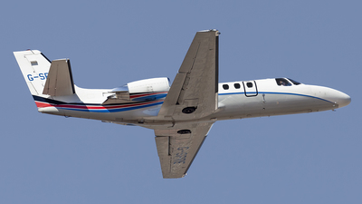 G-SPRE - Cessna 550B Citation Bravo - Xclusive Jet Charter