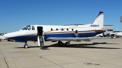 N58HT - Rockwell Sabreliner 65 - Private