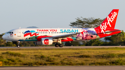 A picture of 9MAHT - Airbus A320216 - AirAsia - © JC28