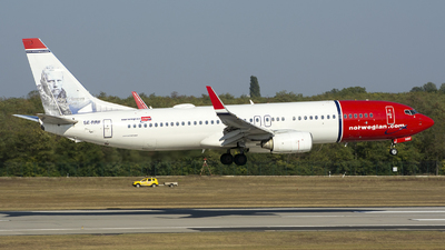 A picture of SERRF - Boeing 7378JP - Norwegian - © András Soós