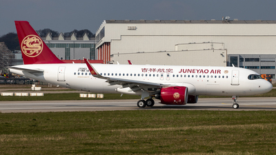 F-WWIB - Airbus A320-271N - Juneyao Airlines