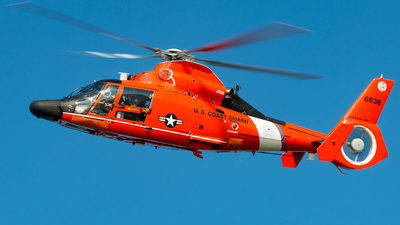 6536 - Aérospatiale MH-65D Dolphin - United States - US Coast Guard (USCG)