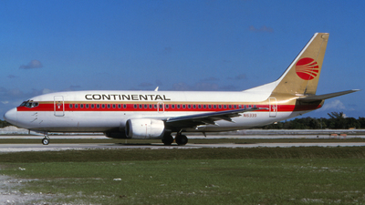 N16339 - Boeing 737-3T0 - Continental Airlines