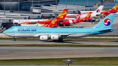 HL7644 - Boeing 747-8B5 - Korean Air