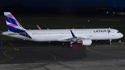 A picture of PTXPG - Airbus A321211 - LATAM Airlines - © Rafael Ferreira