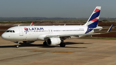A picture of PRTYA - Airbus A320214 - LATAM Airlines - © Fabricio Lucio