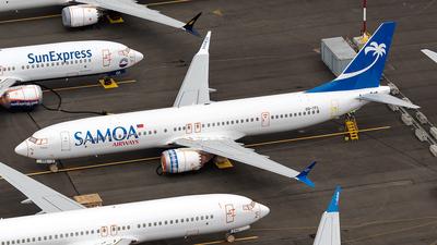 A picture of DQTFL - Boeing 737 MAX 9 - Polynesian - © xuxinyi1000