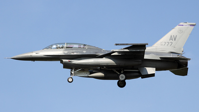 90-0777 - General Dynamics F-16D Fighting Falcon - United States - US Air Force (USAF)