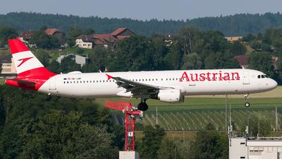 OE-LBF - Airbus A321-211 - Austrian Airlines