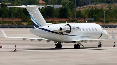 LV-CCW - Bombardier CL-600-2B16 Challenger 605 - Private