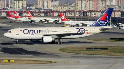 TC-OAH - Airbus A300B4-605R - Onur Air