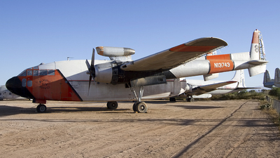 N13743 - Fairchild C-119C Flying Boxcar - Hemet Valley Flying Services