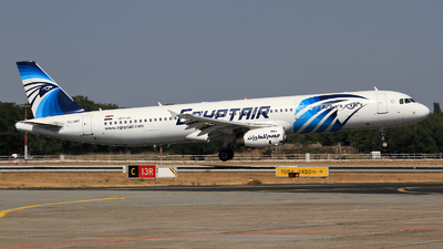 SU-GBT - Airbus A321-231 - EgyptAir