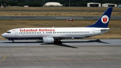 TC-IAH - Boeing 737-86N - Istanbul Airlines