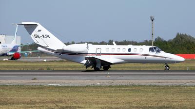 A picture of OKKIN - Cessna 525B CitationJet CJ3 - Aeropartner - © Marin Ghe.