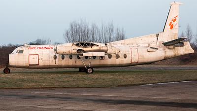 SE-KZD - Fokker F27-500 Friendship - Untitled